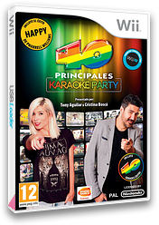 Los 40 Principales Karaoke Party Wii cover (SL4PAF)