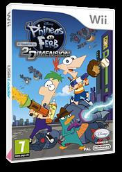 Phineas y Ferb: A Través de la 2a Dimensión Wii cover (SMFP4Q)