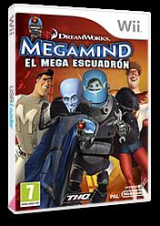 Megamind:El Mega Escuadrón Wii cover (SMGP78)
