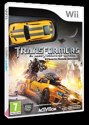 Transformers:El Lado Oscuro de la Luna - Stealth Force Edition Wii cover (STZP52)