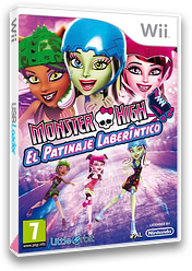 Monster High: El Patinaje Laberíntico Wii cover (SU5PVZ)