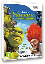 Shrek Forever After Wii cover (SK4P52)