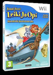 Jussi Jänö - Leiki Ja Opi: Toisella luokalla - Hämminki Juustosaarella Wii cover (SRWXNL)