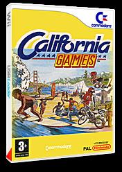 California Games pochette VC-C64 (C97P)