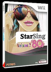 StarSing:'80s Volume 2 v2.2 pochette CUSTOM (CS9P00)