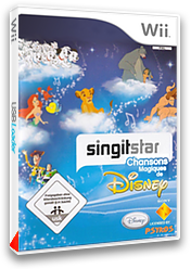 SingItStar: Best of Disney pochette CUSTOM (DMSP4Q)