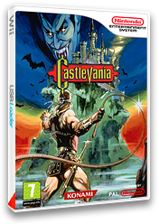 Castlevania pochette VC-NES (FBHP)