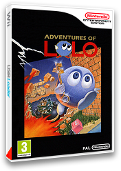 Adventures of Lolo pochette VC-NES (FBUP)