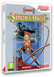 Castlevania II : Simon's Quest pochette VC-NES (FC8P)