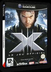 X-Men: Le Jeu Officiel pochette GameCube (G3XP52)