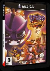 Spyro: A Hero's Tail pochette GameCube (G5SP7D)