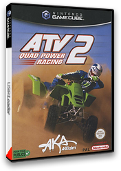 ATV Quad Power Racing 2 pochette GameCube (GATP51)