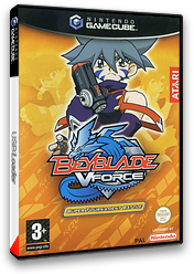 Beyblade VForce - Super Tournament Battle pochette GameCube (GBTP70)