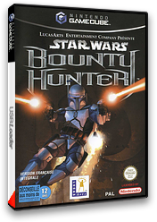 Star Wars Bounty Hunter pochette GameCube (GBWF64)