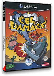 Cel Damage pochette GameCube (GCLP69)