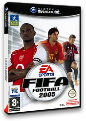 FIFA Football 2005 pochette GameCube (GF5F69)