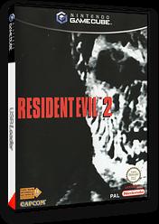 Resident Evil 2 pochette GameCube (GHAP08)