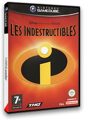 Les Indestructibles pochette GameCube (GICF78)