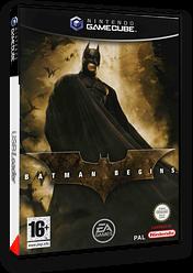 Batman Begins pochette GameCube (GINX69)