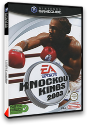 Knockout Kings 2003 pochette GameCube (GKKP69)