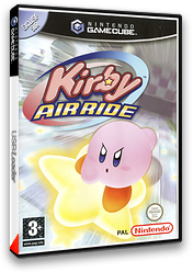 Kirby Air Ride pochette GameCube (GKYP01)
