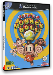 Super Monkey Ball 2 pochette GameCube (GM2P8P)