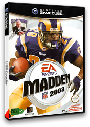 Madden NFL 2003 pochette GameCube (GM3P69)