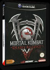 Mortal Kombat: Deadly Alliance pochette GameCube (GMKP5D)
