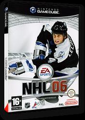 NHL 06 pochette GameCube (GN6P69)