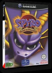 Spyro:Enter the Dragonfly pochette GameCube (GS8P7D)