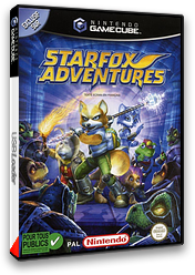 Star Fox Adventures pochette GameCube (GSAP01)