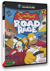 The Simpsons: Road Rage pochette GameCube (GSPP69)