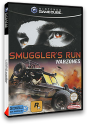 Smuggler's Run:Warzones pochette GameCube (GSRP7S)