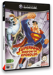 Superman: Shadow of Apokolips pochette GameCube (GSUP70)