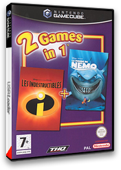 2 Games in 1: Les Indestructibles / Le Monde de Nemo pochette GameCube (GU2F78)