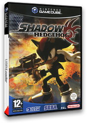 Shadow the Hedgehog pochette GameCube (GUPP8P)