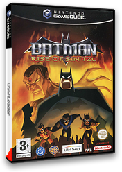 Batman Rise of Sin Tzu pochette GameCube (GUZP41)