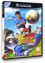 Virtua Striker 3 Ver. 2002 pochette GameCube (GVSP8P)