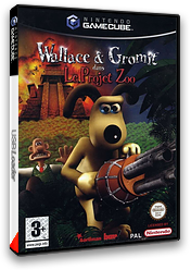 Wallace & Gromit dans Le Project Zoo pochette GameCube (GWLX6L)