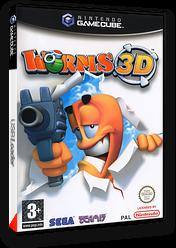 Worms 3D pochette GameCube (GWMP8P)