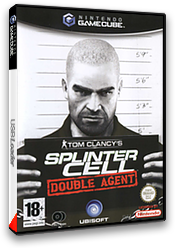 Tom Clancy's Splinter Cell: Double Agent pochette GameCube (GWYX41)