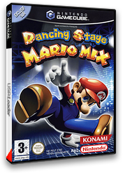 Dancing Stage Mario Mix pochette GameCube (GWZP01)