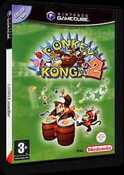 Donkey Konga 2 pochette GameCube (GY2P01)