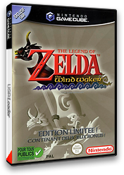 The Legend of Zelda: The Wind Waker pochette GameCube (GZLP01)