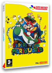 Super Mario World pochette VC-SNES (JAAP)