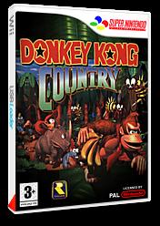 Donkey Kong Country pochette VC-SNES (JAEP)