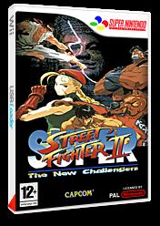 Super Street Fighter II : The New Challengers pochette VC-SNES (JBBP)