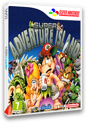 Super Adventure Island pochette VC-SNES (JD7P)