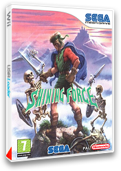 Shining Force pochette VC-MD (MBEP)