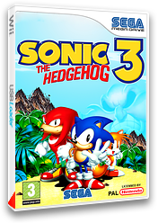 Sonic the Hedgehog 3 pochette VC-MD (MBMP)